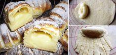 Μια πολύ εύκολη και γευστική συνταγή από τη Ρωσία. Λαχταριστά γεμιστά ψωμάκια γεμιστά με υπέροχη κρέμα. Λέγονταιbulochki και είναι όμοια με τα γνωστά μας πιροσκί.
