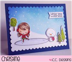 CC Designs Winter Scene