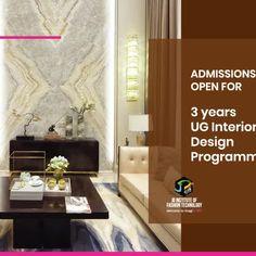 Admissions open for 3 years UG Interior Design Programme. Course Details here: https://www.jdinstitute.com/courses/interior-design-courses/  .  .  #IAMCHANGE #BETHECHANGE #Admissionsopen #InteriorDesigncourses #InteriorDesign  #CHANGE #INNOVATE #JDINSTITUTEOFFASHIONTECHNOLOGYINDIA#JDINSTITUTE #JDADA #JDANNUALDESIGNAWARDS #JDADA2018