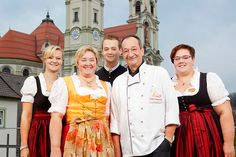 Familie Hafenrichter vom AKZENT Brauerei Hotel Hirsch in Ottobeuren.