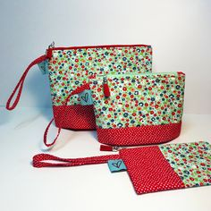 New Set, Pouch, Zipper, Handmade, Bags, Design, Handbags, Hand Made, Sachets