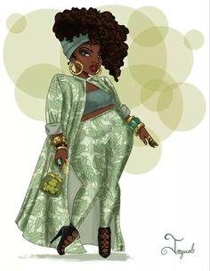 Modern Tiana by Jonquel Norwood