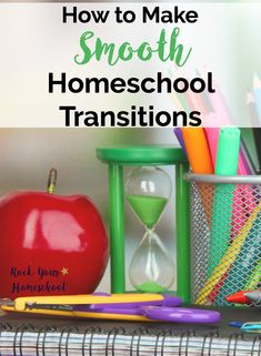 Are you tired of wasting time & energy dealing with resistance to change in your homeschool? Check out these tips & tricks for making smooth homeschool transitions.