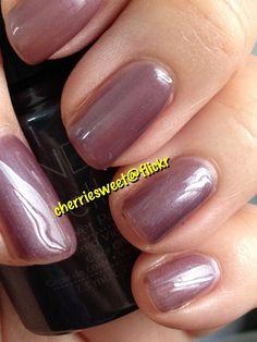 CND Shellac Layering Vexed Violette (1 coat) over Romantique (1 coat)