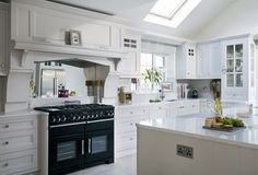 Range Cooker with Overmantle (Cultivate.com)