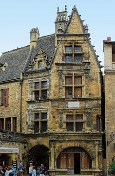 Sarlat: La maison de naissance d'Étienne de la Boétie, Aquitaine - Etienne de la Boétie birthplace, Sarlat-la-Canéda, Dordogne, France
