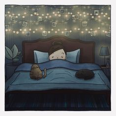 #comics #comic #comicart #comicfun #messages #draw #drawing #art #illustration #doodle #colours #colors #figures #life #picture #love #lights #mood #happy #girl #sleep #night #goodnight #sleepwell #cat #cats #cute #mood #sleepy #dream #dreams #dreamy #shiny #shine Drawing Art, Good Night, Night Light, Comic Art, Doodles, Sleep, Colours, Messages, Illustrations