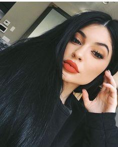 • Kylie Jenner • • Orange Makeup Look • | Pinterest: @xxiFalone