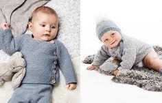 Vinterns härligaste babyplagg stickar du själv – och de blir garanterat nya garderobsfavoriter!