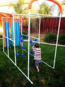 The kid car wash idea with pictures and links for instructions on how to build it. Backyard Water Parks, Backyard For Kids, Diy For Kids, Backyard Ideas, Backyard Playground, Backyard Games, Backyard Projects, Playground Ideas, Backyard Bbq