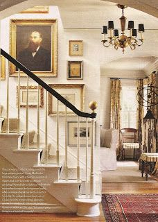 STAIRCASE stairs for entry includes an arch to living room. STAIRCASE stairs for entry includes an arch to living room. Love the gold finial-