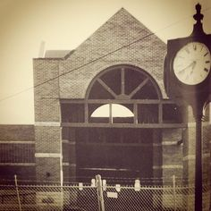 """Year 109. 1995. Mabee Library was built in 1995. It's beautiful inside and outside--especially with the historic """"Sputnik"""" clock tower outside."""