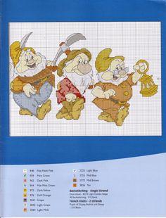 Gallery.ru / DS53 - The Seven Dwarfs - 2.JPG - DS053 - Milka35