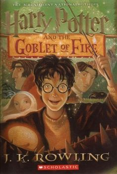 Harry Potter and the Goblet of Fire (Harry Potter #4) by J.K. Rowling, Mary GrandPré (Illustrator)  The summer holidays are dragging on and Harry Potter can't wait for the start of the school year. It is his fourth year at Hogwarts School of Witchcraft and Wizardry, and there are spells to be learnt, potions to be brewed and Divination lessons (sigh) to be attended