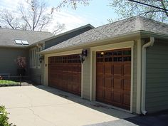 New James Hardie Siding, trim  and garage doors