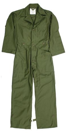 NEW US MILITARY COTT SATEEN OLIVE COVERALLS FLYING BOILER SUIT MECHANIC OVERALL-BRAND NEW US MILITARY COTTON SATEEN OD OLIVE COVERALLS FLYING BOILER SUIT MECHANIC PAINTBALL OVERALL-This is the real genuine original US Military Coveralls Cotton Sateen Coverall and is made of a superb and unusual 100% cotton sateen. Stock number is 8405-00-131-6507 and contact number is DLA100-86-C-0624.This superb US Military Men's Coveralls has a left chest pocket and two lower pockets. Waist has two…