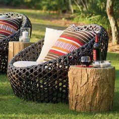 Mason Cocoon Chair - Grandin Road