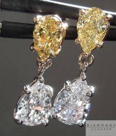 diamond earrings- here goes the real bling bling