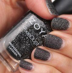 pixie dust nailpolish | Zoya's Pixie Dust Nail Polish in Dahlia | sopolished.