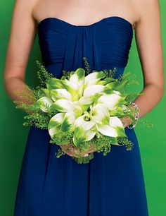 Flowers Wedding Flowers Magazines: Blue and Green Wedding Party Blue Bridesmaids, Bridesmaid Bouquet, Wedding Bouquets, Wedding Flowers, Bridesmaid Dresses, Wedding Dresses, Bridesmaid Ideas, Wedding Bridesmaids, Wedding Color Schemes