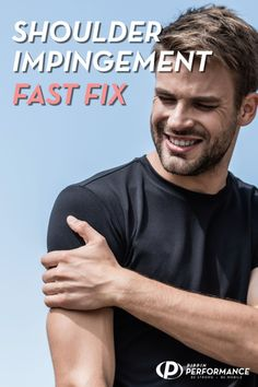 How To Fix Shoulder Impingement (Quickly! Shoulder Rehab, Shoulder Problem, Shoulder Joint, Neck And Shoulder Pain, Frozen Shoulder Pain, Shoulder Pain Exercises, Shoulder Workout, Rotator Cuff Exercises, Aerobic Exercises