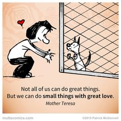#ChangeaPetsLifeDay and spread some love!  #MUTTScomics