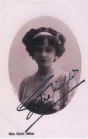 Autograph: Miss G Millar.