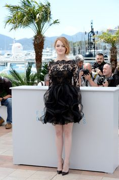 Emma Stone Photos - 'Irrational Man' Photocall - The 68th Annual Cannes Film Festival - Zimbio