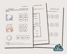 RECURSOS INFANTIL | Ejercicios de iniciación a la lectoescritura para Ed. Infantil ~ La Eduteca