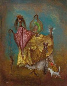 LEONORA CARRINGTON La artists viaja de incognito, 1949
