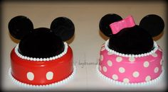 easy mickey smash cake | First birthday for a set of boy-girl twins. Thanks for all the ...