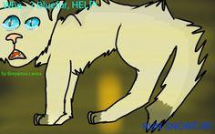 Snowfur's death part 1 drawn by Breyanna Lenox