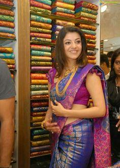 Kajal agarwal in saree