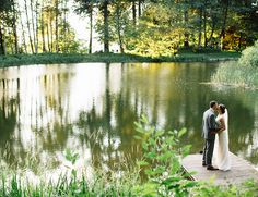 Bridal Veil Lakes Whimsical Woodsy Portland Wedding - Inspired By This
