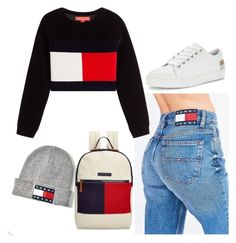 """""""Tommy Hilfiger"""" by be-the-1 ❤ liked on Polyvore featuring Tommy Hilfiger"""