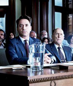 Robert Downey Jr as hank palmer the judge
