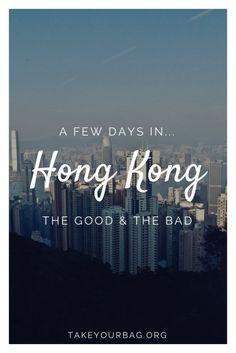 A few days in Hong Kong | What to do in Hong Kong | Where to eat in Hong Kong | Visit the Big Buddha in Hong Kong | Go to Victoria Peak in Hong Kong