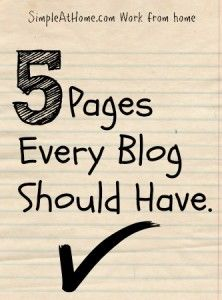 If you are setting up your blog or looking to make a few changes here are a few pages you should check that you have. These pages while not traffic drivers and lets face it they are BORING to build are key to having a professional site. Pages Every Blog Should Have. About Page: Oh...Read More »
