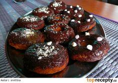 Bezlepkové jablečné donuty Marshmallow, Doughnut, Muffin, Breakfast, Food, Morning Coffee, Essen, Marshmallows, Muffins