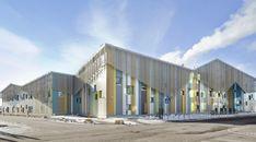 Школа и детский сад Kalasatama / JKMM Architects