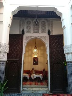 Another snapshot hotel  in Fes Marroco