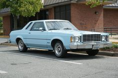 Ford Granada 2-door sedan - I am almost hesitant to say we owned one of these for a while when I was a kid. The doors were heavy...