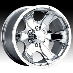 Pacer Warrior 16x8 Polished Wheel  Rim 5x135 with a 10mm Offset and a 8700 Hub Bore Partnumber 187P6853 * Check out the image by visiting the link.