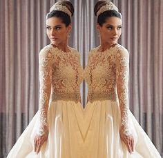 Dream dress by my dream wedding dress designer , Lucas Anderi