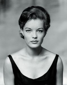 """Romy Schneider (I remember her from an old favorite movie of mine from the 60's, """"The Cardinal"""" with Tom Tryon)"""