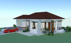 Review: Elevated 3 Bedroom Thai House Design | Pinoy ePlans