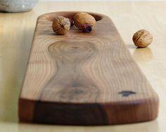 Plateau Apero Bois - Modern Cutting Board - Michael Vermeij - Tapas Plank - Serving Board Handle - Planche à Découper - Wood Platter - Bois