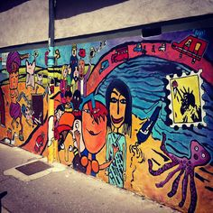 StreetArt/ Graffiti - Lyon 7ème, France (Photos by My Urban Island)