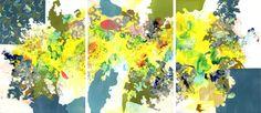 "Saatchi Art Artist Kathryn Neale; Painting, ""Construct IV (Window Series)"" #art"