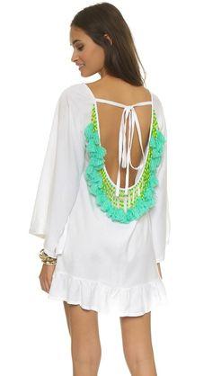 SUNDRESS Короткое пляжное платье Alaia